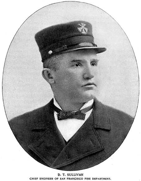 Photograph of San Francisco Fire Chief Engineer Dennis T. Sullivan